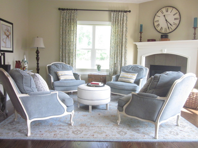 Ethan allen projects traditional living room for Ethan allen living room designs