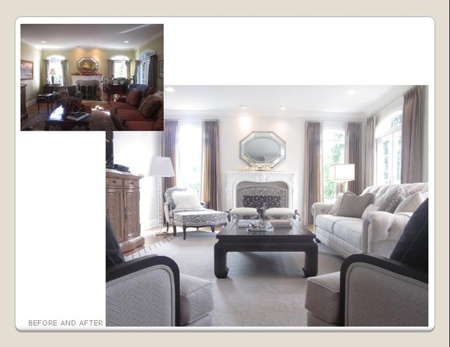 Ethan Allen Projects Traditional Living Room