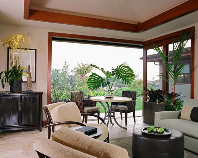 Ethnic Tropical Tropical Living Room Hawaii By Willman Interiors Gi