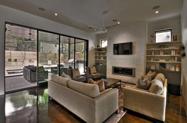 Ethridge Residence contemporary-living-room