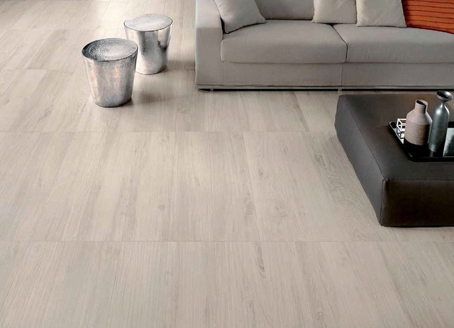 Etic Collection Wood Inspired Porcelain Tiles Contemporary Living Room Auckland By