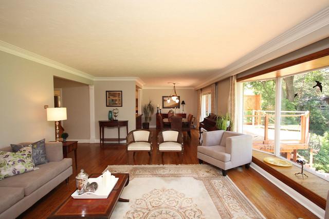 Etobicoke Drive contemporary-living-room