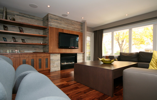 Etobicoke Residence contemporary-living-room