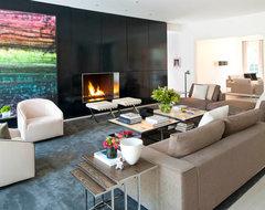 Euclid Residence modern-living-room