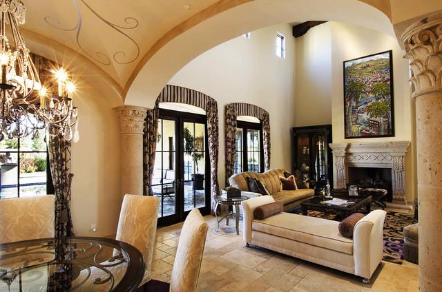 European Elegance - Traditional - Living Room - Phoenix ...