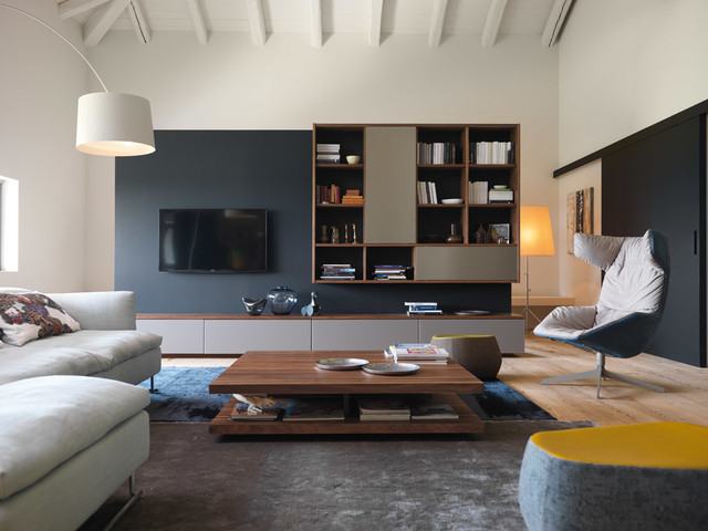 Houzz & European Living Room Sets in NYC - Contemporary - Living ...