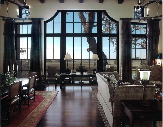 Everett mediterranean-living-room