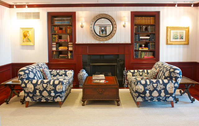 Exclusive Golf and Beach Club traditional-family-room