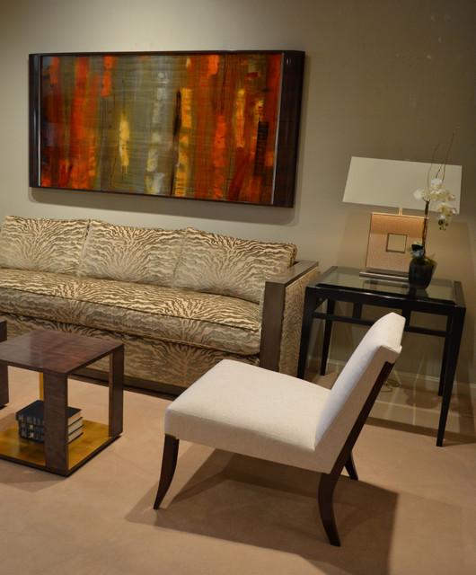 atmosphere living transitional living room