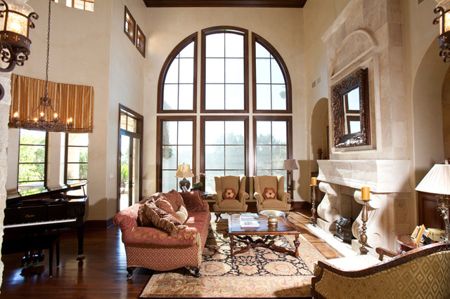 Experience Austin Luxury Mediterranean Living Room Austin By Creative Touch Interiors