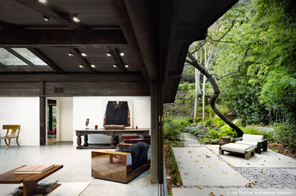 Experimental Ranch modern-living-room