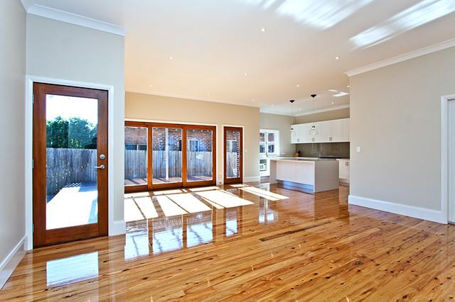 Extension Croydon Modern Living Room Sydney By Rescon Builders