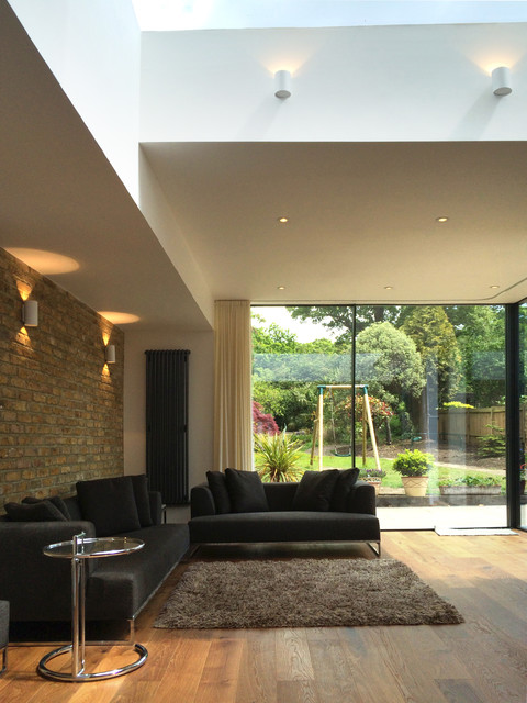 extension richmond park contemporary living room london by 2pm architects. Black Bedroom Furniture Sets. Home Design Ideas