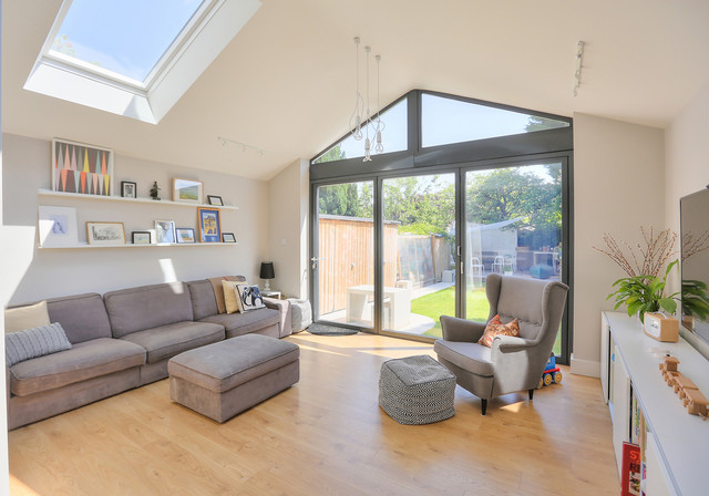 living room extensions extension to 1930 s semi contemporary living room 11514