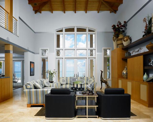 EZK tropical-living-room