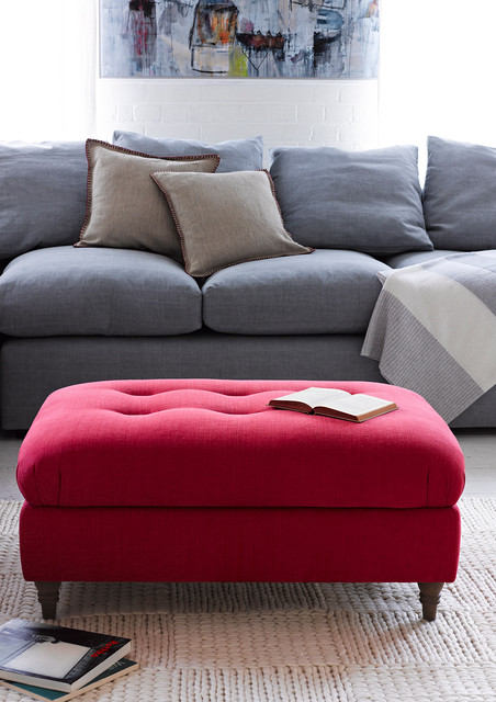 Fab Footstools Living Room London By Loaf