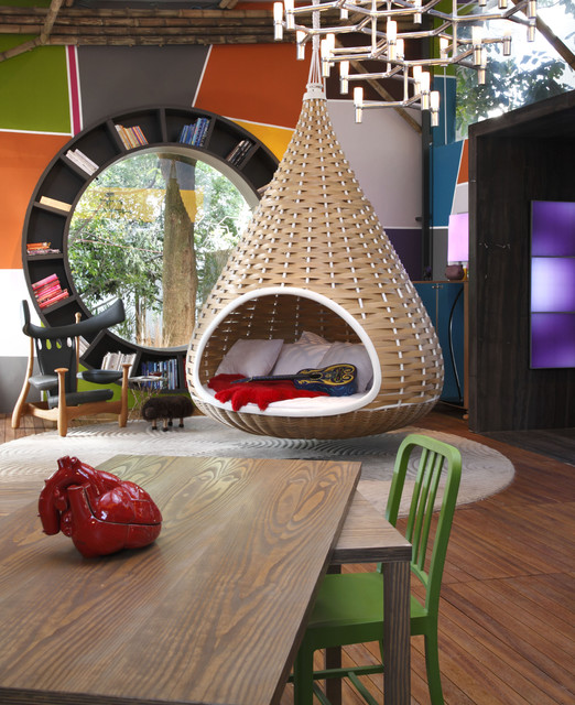 Fabio Galeazzo Brazil Urban Cabin contemporary-living-room