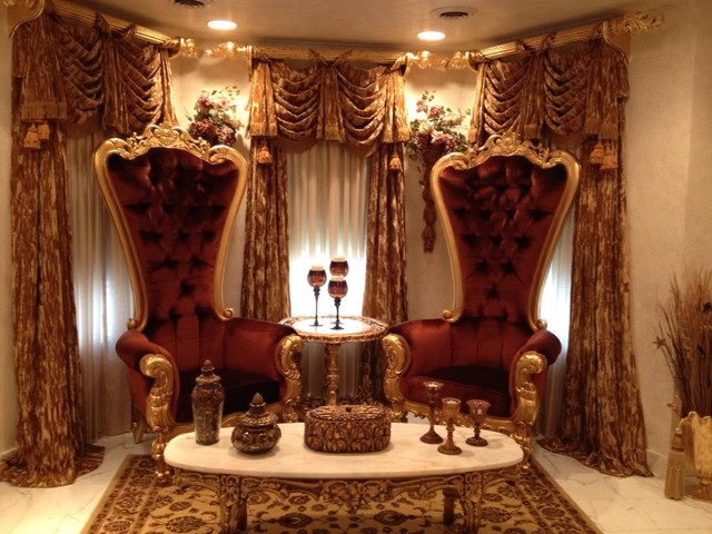 Fabulous and Baroque Furniture Client Pics Traditional