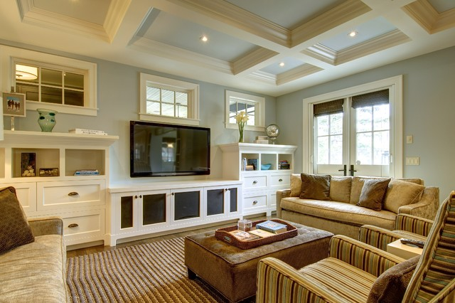 Fabulous city living craftsman living room calgary for Craftsman living room ideas