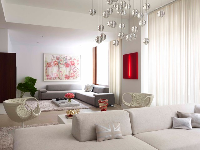 Fabulous Flat - Contemporary - Living Room - New York - by West ...