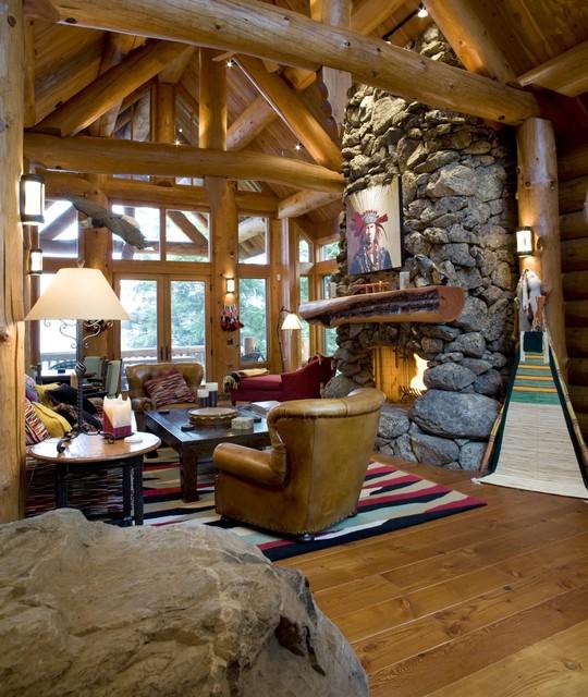 Fabulous Living Room rustic-living-room