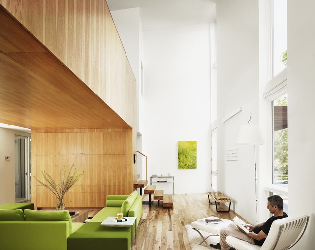 Fairfield House modern-living-room