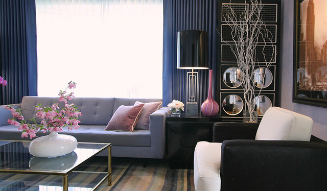 Fairfield Living Room eclectic-living-room
