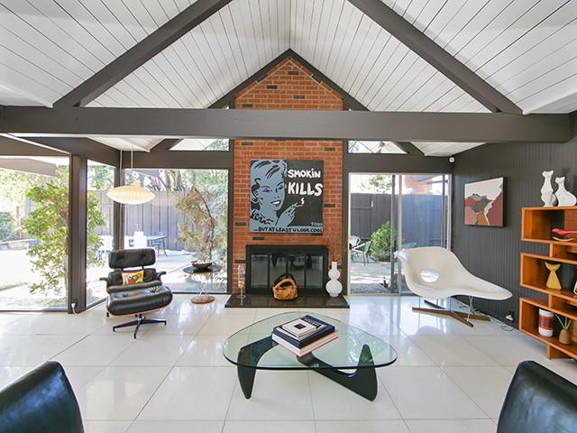 Fairhills Eichler Home In Southern California Midcentury Living Room