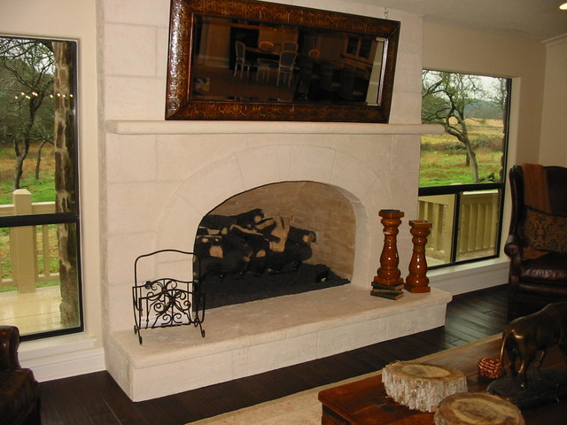 Fairland project traditional-living-room