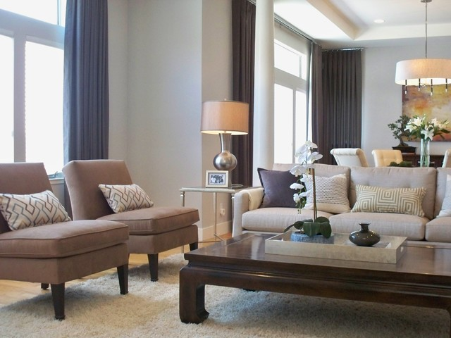 Fairlane Residence contemporary-living-room
