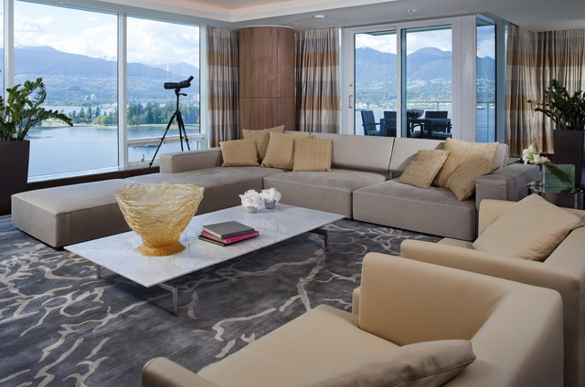 Fairmont Pacific Rim - Contemporary - Living Room - Vancouver - by ...