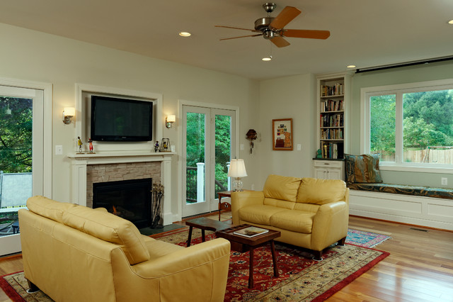 Falls Church Addition Contemporary Living Room Dc Metro By Innovative