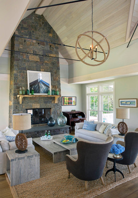 Falmouth residence contemporary living room other for Mckie wing roth home designs