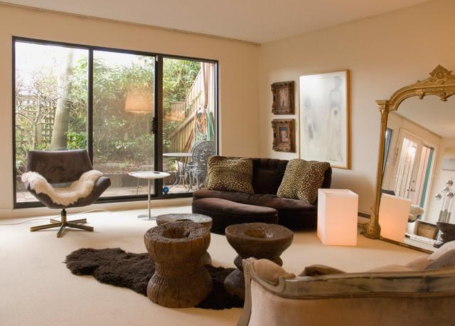 False Creek eclectic-living-room