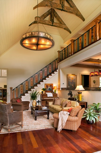 Family Friendly Mountain Retreat Traditional Living Room Other By Bob Lancaster Designs