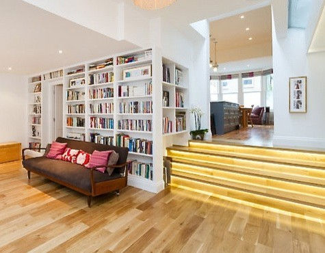 Family home Clapham Contemporary Living Room London by