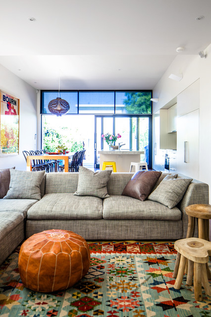 Family Home Melbourne Contemporary Living Room Melbourne By Ali Ross