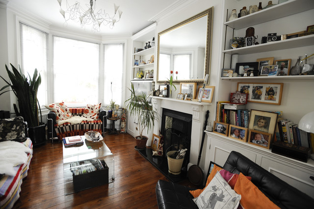 Family house in Wimbledon eclectic-living-room