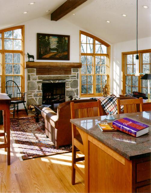 Family Room Addition, Gladwyne, Pennsylvania traditional-living-room