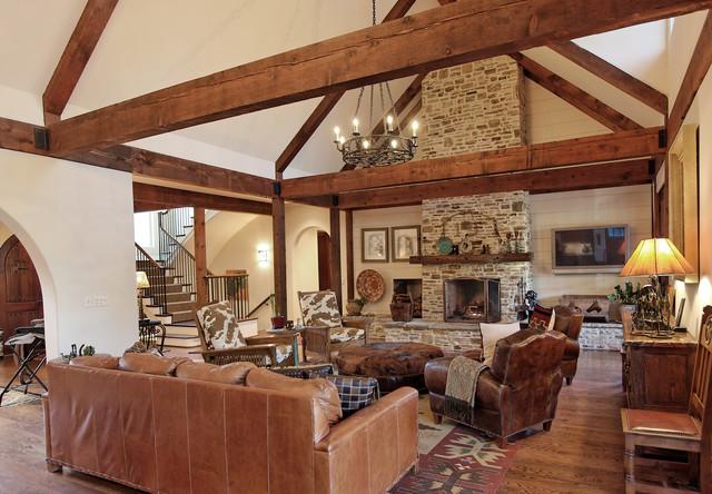 Family Room southwestern-family-room