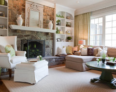 Baltimore Residence. traditional living room
