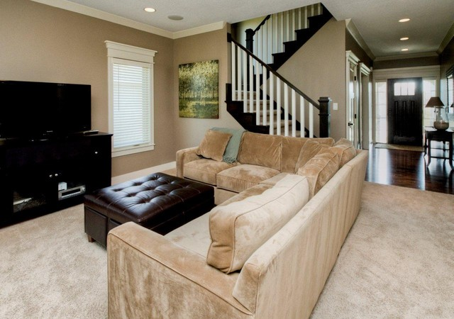 Family Rooms transitional-living-room