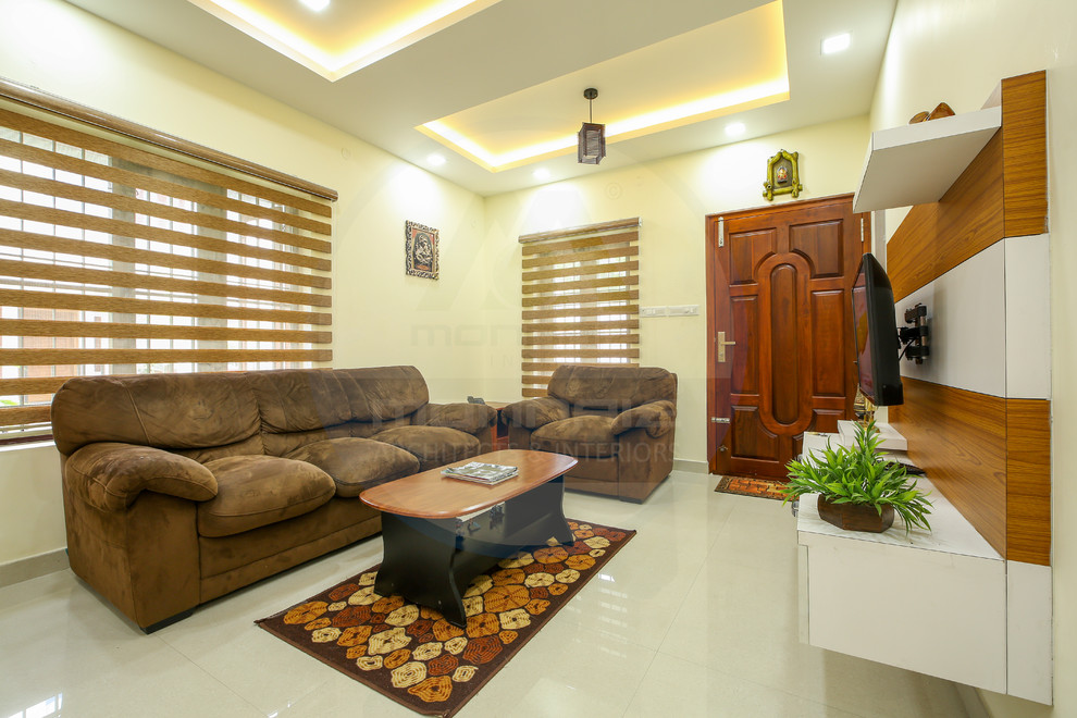 Famous Architects Interior Designers In Kerala Contemporary Living Room Other By Monnaie Architects Interiors Pvt Ltd