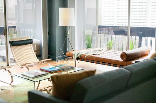 mies van der rohe divan barcelona en cuero marron diariodesign