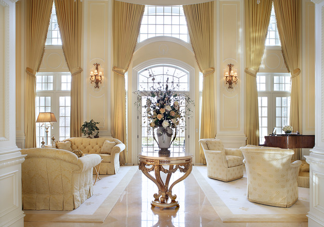 Far Hills Traditional Living Room New York By