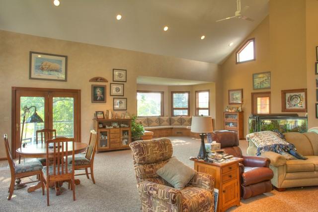 Farm House Renovation traditional-living-room