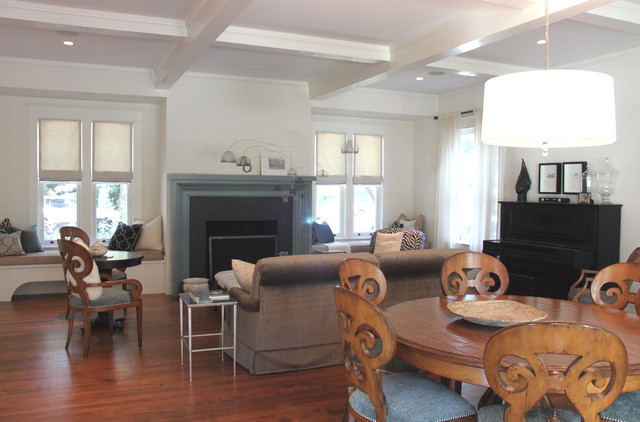 Farmhouse Architecture Atherton Traditional Living Room San Francisco By Young And