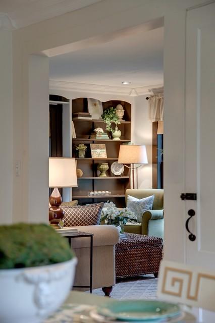 Farmhouse Charmer - Living Room transitional-living-room