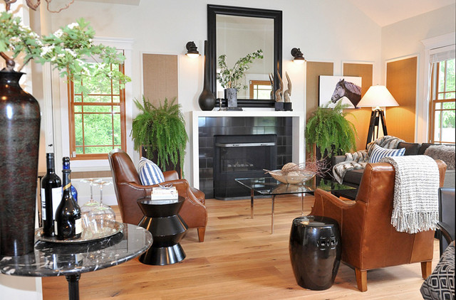Farmhouse Cosmetic Reno Traditional Living Room Other Metro By Rooms That Work