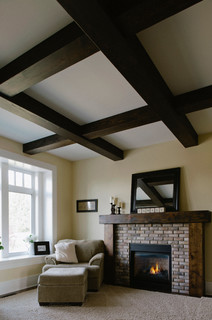 Farmhouse - Traditional - Living Room - Vancouver - by Rockridge Fine Homes